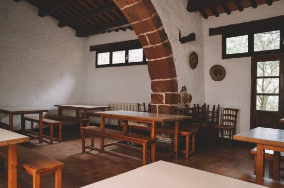 Interior casa colonies i masia rural