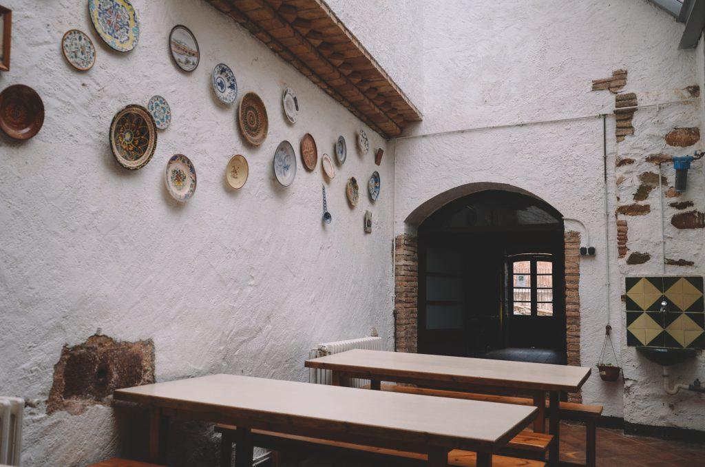 Taules Menjador casa colonies